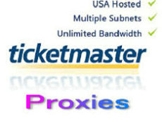 Ticketmaster Proxies