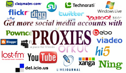 proxies for social media marketing
