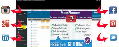massplanner for social media accounts