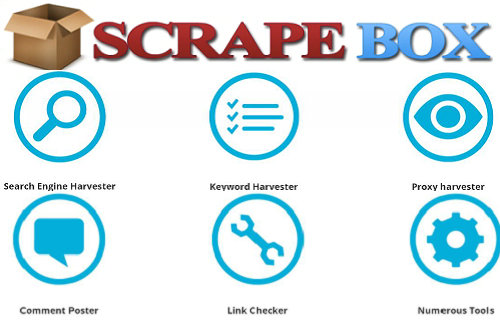 Scrapebox for scraping,harvesting,post,check,ping