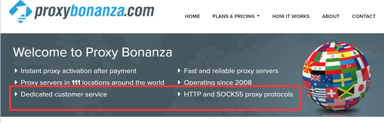 proxybonanza socks5 proxies