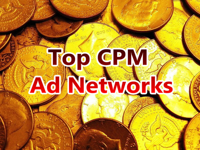 Top 10 CPM Ad Networks