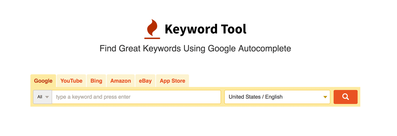 Keyword Tool Free Online Home Page