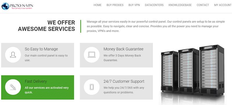 Proxy-n-VPN service