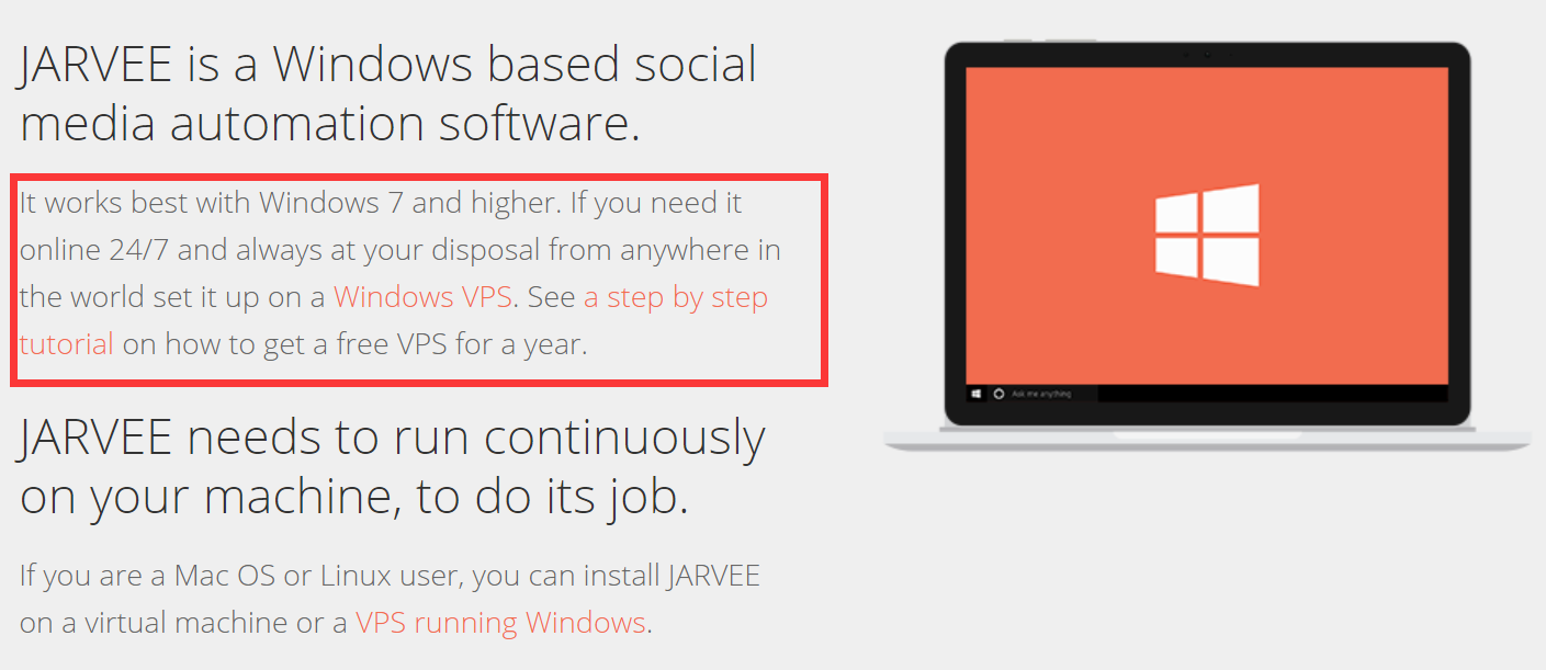 jarvee window based social media automation software