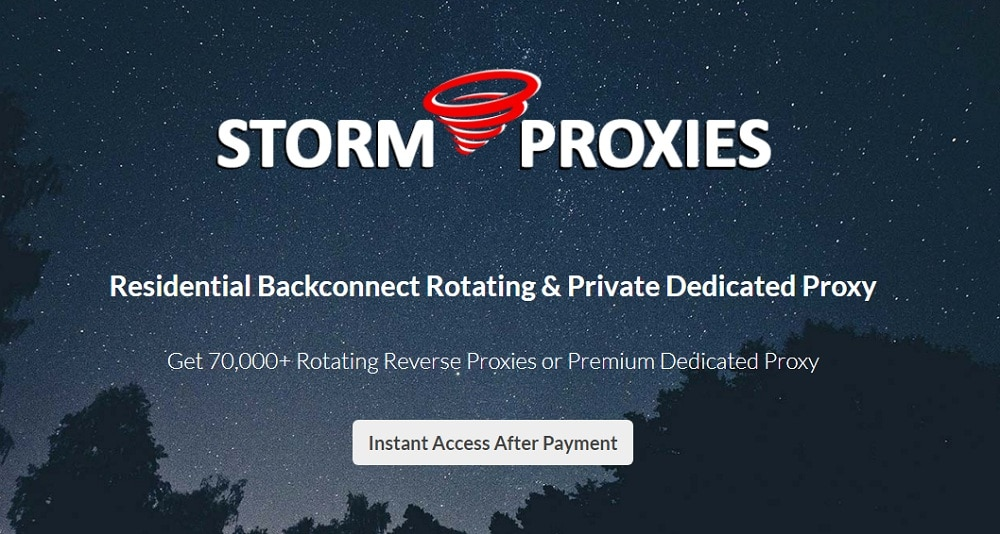StormProxies Review