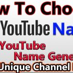 youtube name generators