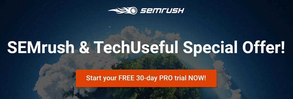 exclusive offer for techuseful with semrush
