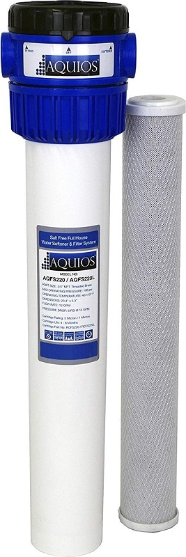 Aquios AQFS220 Full house salt-free water softener