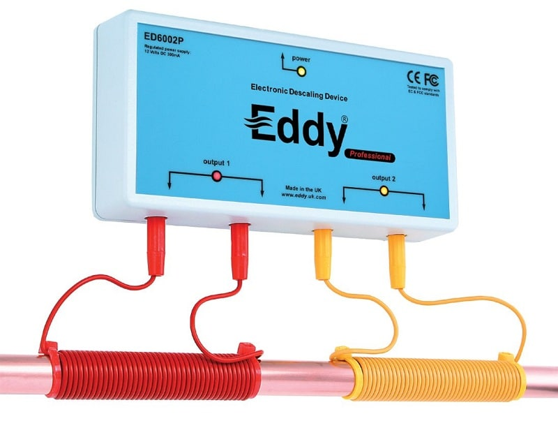 Eddy electronic water descaler and softener