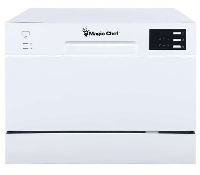 Magic Chef 6-Place Setting Countertop Dishwasher