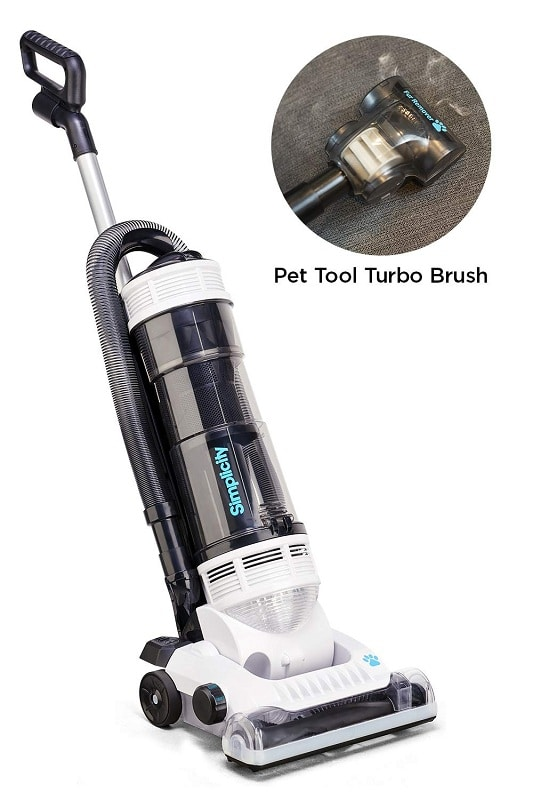 Simplicity Upright pet vacuum cleaner