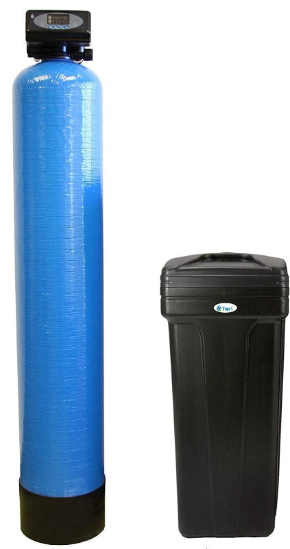 Tier1 48000 grain high efficiency digital water softener