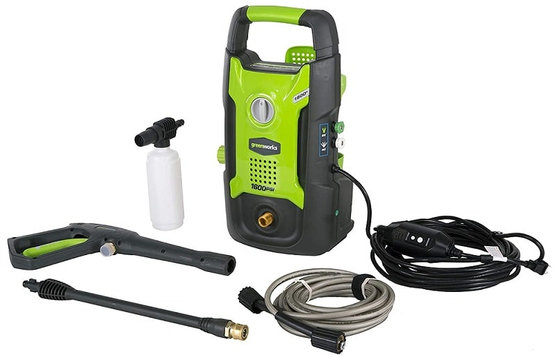 Greenworks 1600 PSI 13 Amp Pressure Washer