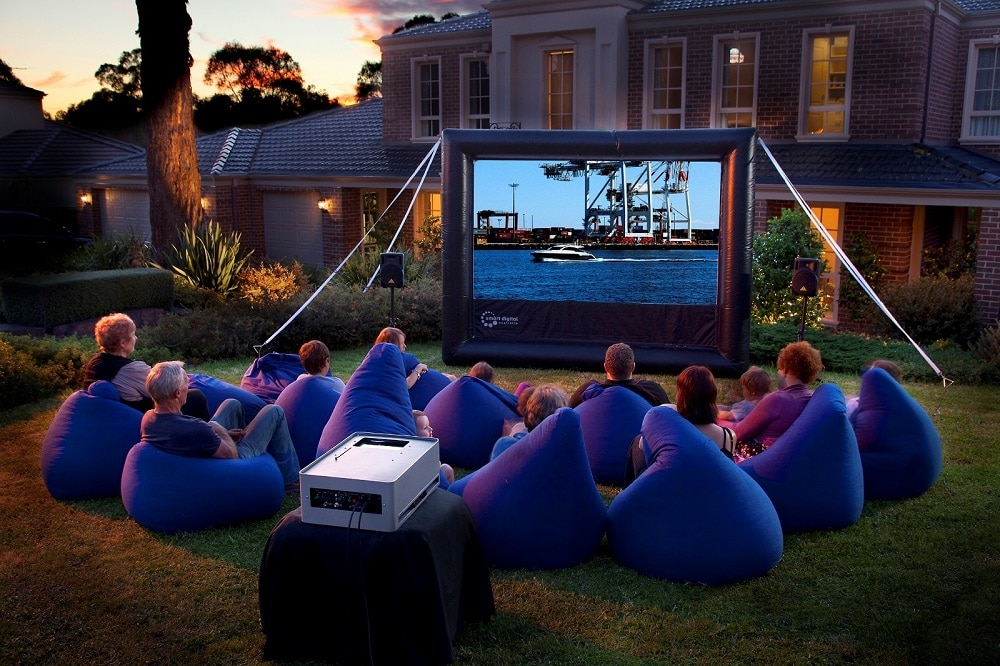 Outdoor Movie Screen Picture