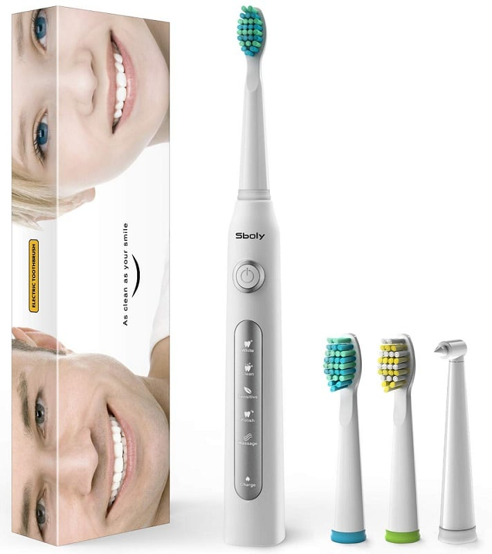 Sboly Sonic Electric Toothbrush