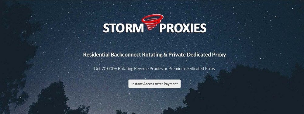 stormproxies private proxies