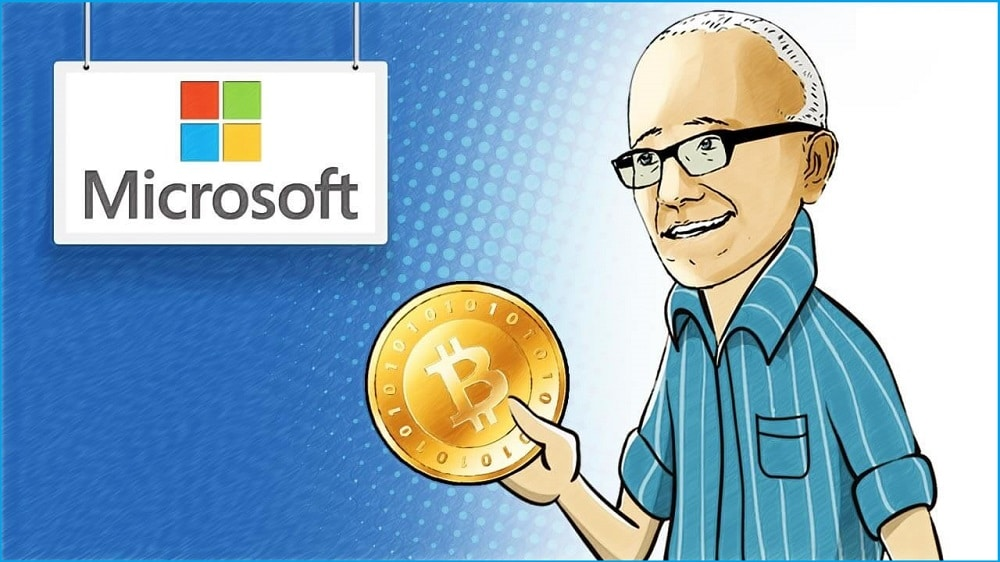 Microsoft purchase with Bitcoin