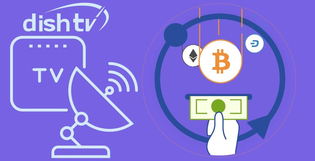 dish tv payment with bitcoins