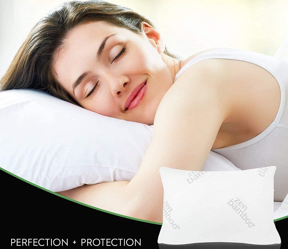 Bamboo pillows with Hypoallergenic