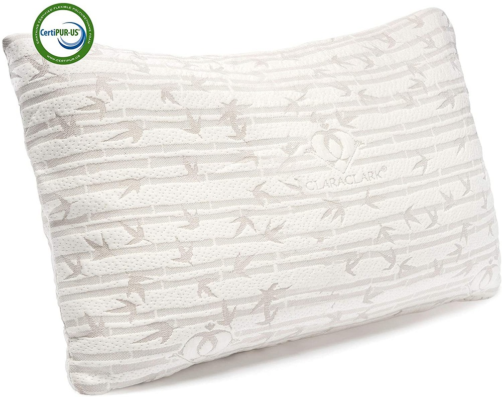 Clara Clark Shredded Memory foam pillow
