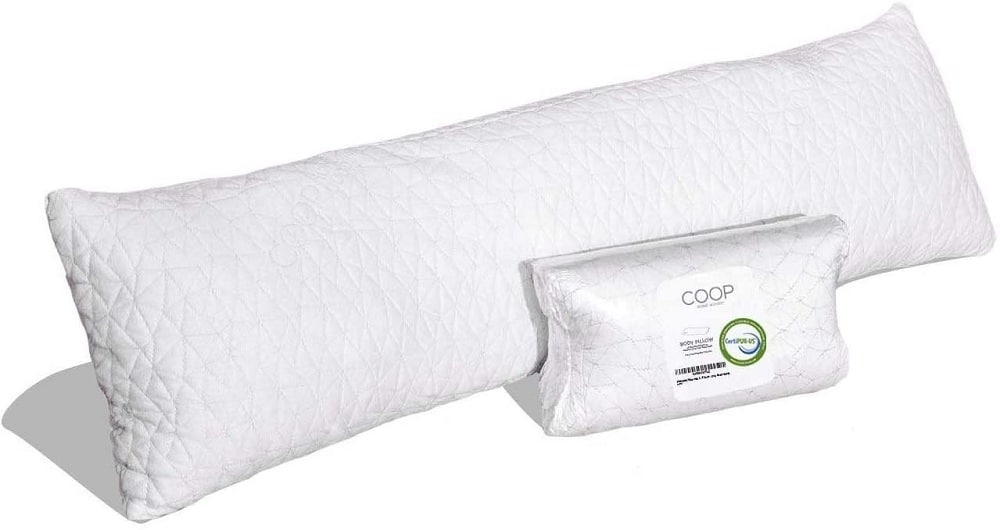 Coop home goods adjustable body pillow