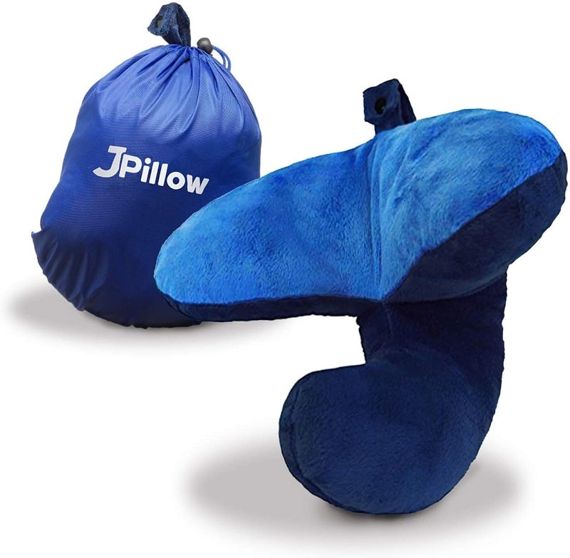 J-Pillow Chin Supporting Travel Pillow