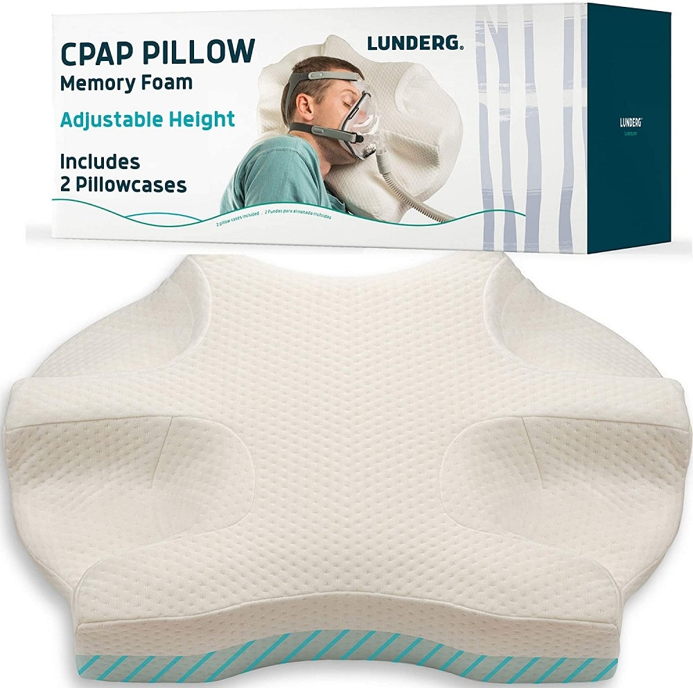 Lunderg CPAP Pillow for Side Sleepers