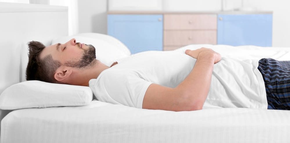 back sleepers with thinner pillow