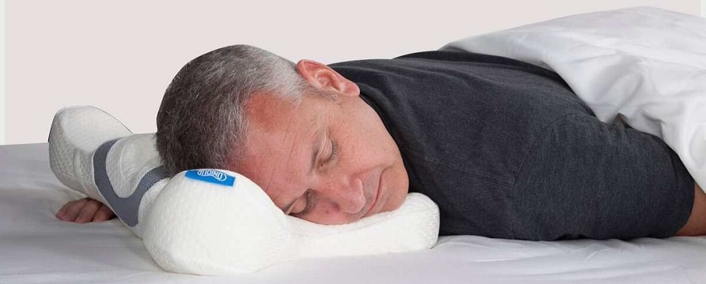 stomach sleepers with thinner pillow