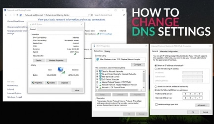 How to Change DNS Server for A Safer And Faster Browsing