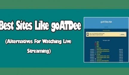 Best goATDee Alternatives in 2020! Free Streaming Sports