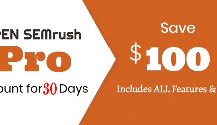 How to Gain 30 days Free Access to SEMrush (Step to Step)
