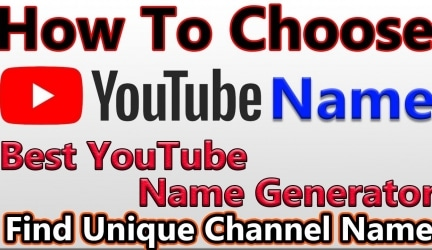 Best YouTube Channel Name Generator of 2020